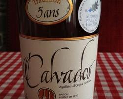 Calvados AOC Tradition 5 ans d'âge 42% Vol