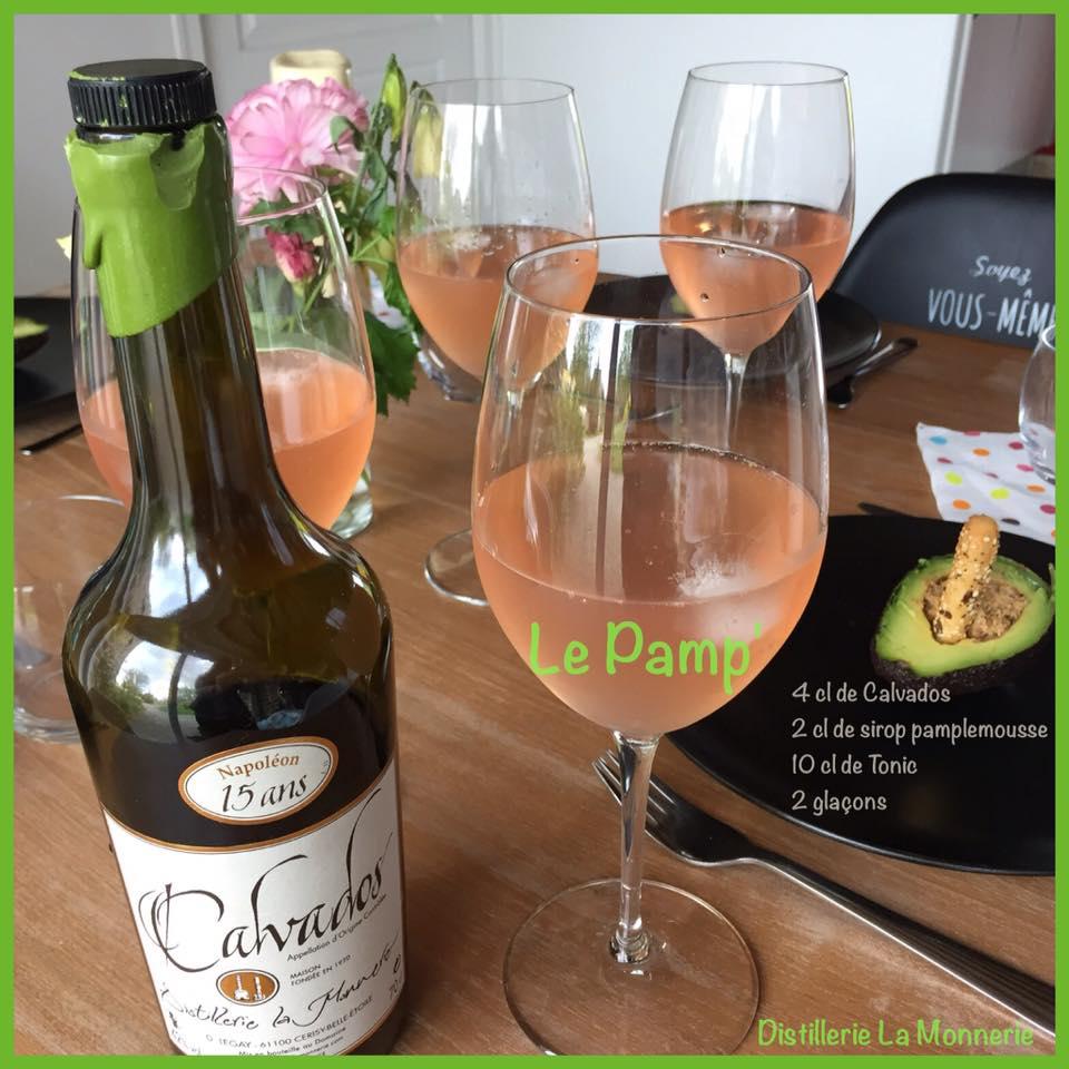 """Le """"Pamp"""" un cocktail  Calvados aux allures de vacances #cocktailpamp @cocktailpamp"""